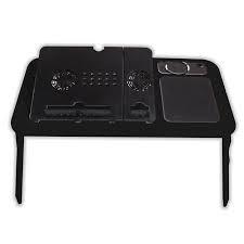 mesa para portatil con ventilador pad mouse extendible