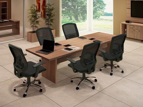 mesa para reuniones en mdf 310cm