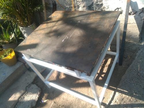 mesa para sierra de banco
