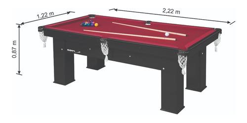 mesa para sinuca residencial elite