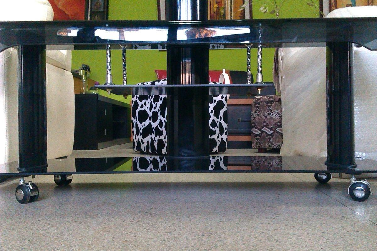 mesa para televisortv nueva con vidrio templado moderna