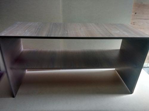 mesa para tv de melamine 200 soles
