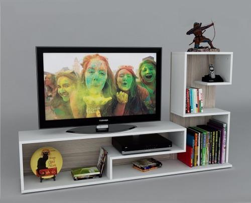 mesa para tv led rack modulo  mueble estante hogar la font