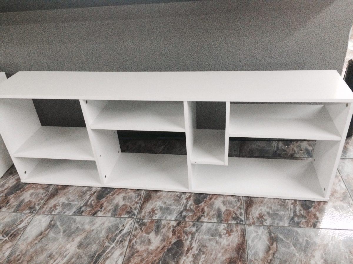 Mesa Para Tv Mueble Nuevo De Aglomerado De Madera Blanco  # Muebles En Jojutla Morelos