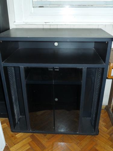 mesa para tv, reproductor de dvd,consola y cds