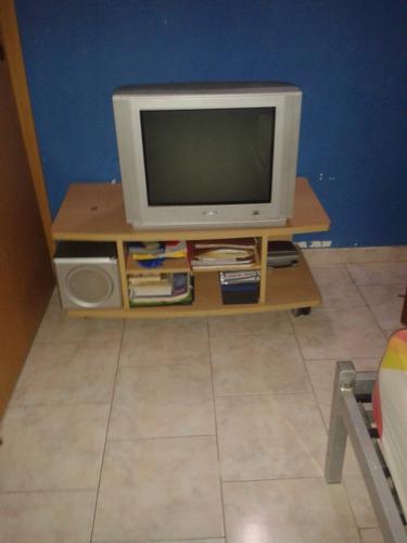 mesa para tv y equipo de sonido o blue ray