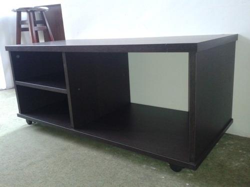 mesa para tv y equipo sonido