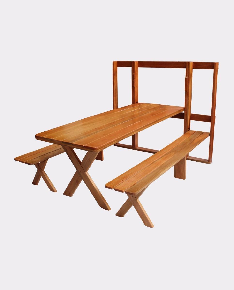 Mesa Em Parede ~ Mesa Parede Churrasco Dobrável Madeira Maciça Rústica R$ 1 790,00 em Mercado Livre