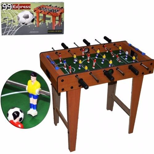 mesa pebolim futebol de mesa totó com pés entrega rápida