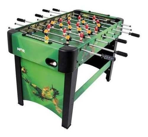 mesa pebolim futebol jogo stadium para bar e casa mor verde