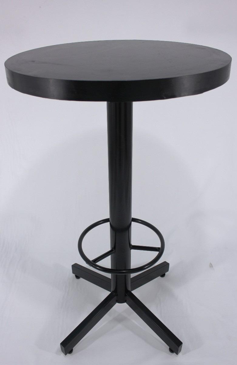 Mesa periquera con 4 bancos mobiliario bar cafe for Mobiliario para cafes