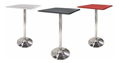 mesa periquera tapizada restaurante bar cafetería lounge