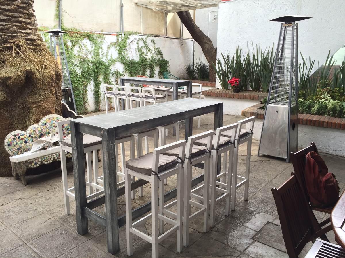 Mesa periquera vintage 2 en mercado libre for Mesa y sillas para 8 personas