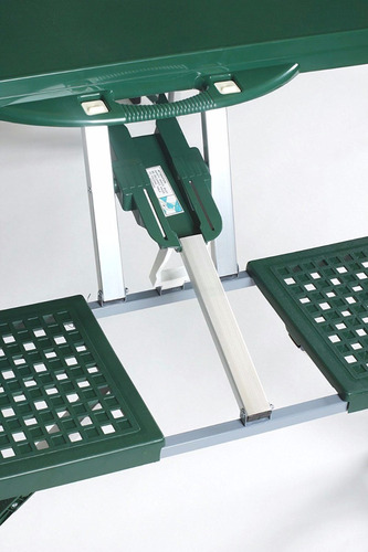 mesa picnic plegable portafolio maletin banca sombrilla
