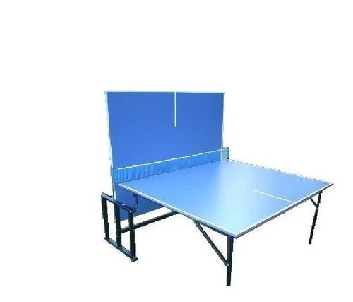 mesa ping pong fronton plegable ruedas red medida oficial