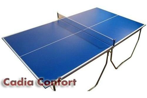 mesa ping pong profesional con ruedas red paletas pelotitas