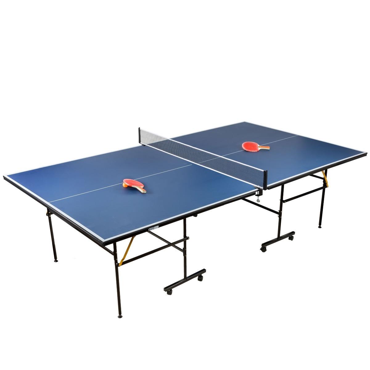 5da8349c6 Mesa Ping Pong Profesional Plegable Tenis De Mesa (video) -   8.199 ...