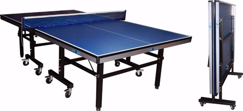 mesa ping pong sport fitness original 16mm malla y raquetas