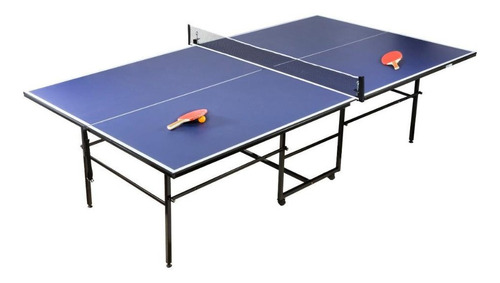 mesa ping pong tenis con ruedas profesional plegable fronton