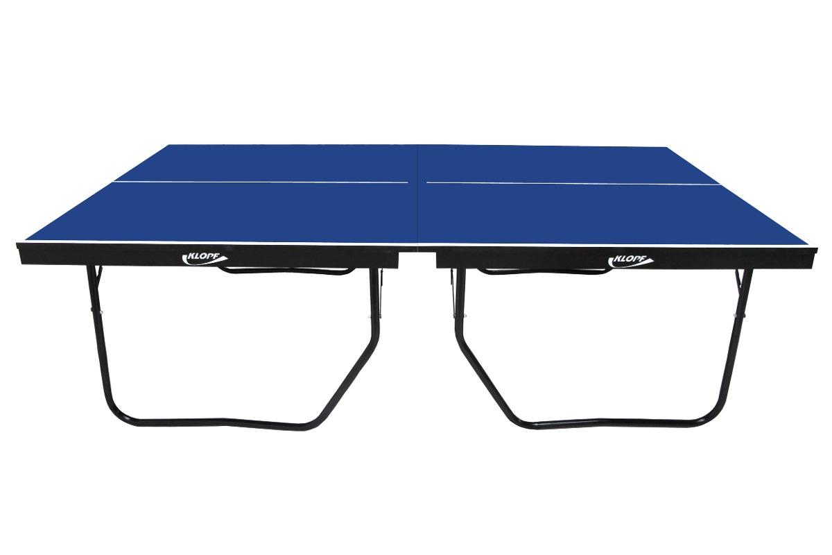 Mesa ping pong tenis mesa oficial 25mm mdf proton klopf for Mesa tenis de mesa