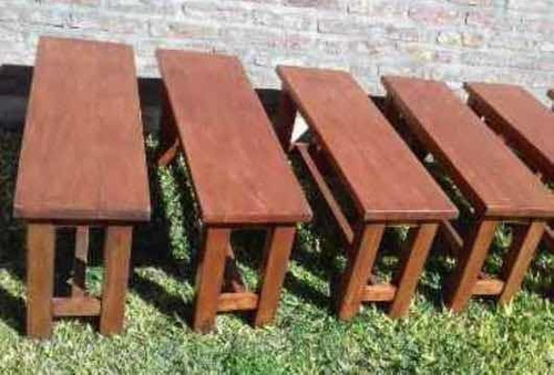 mesa pino ideal para galería