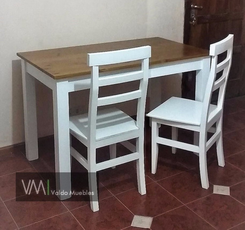 mesa pino laqueada cedro wengue caoba miel blanco 120x70