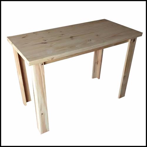 mesa pino maciza pata l 140x80+ envio gratis zona 3 febrero