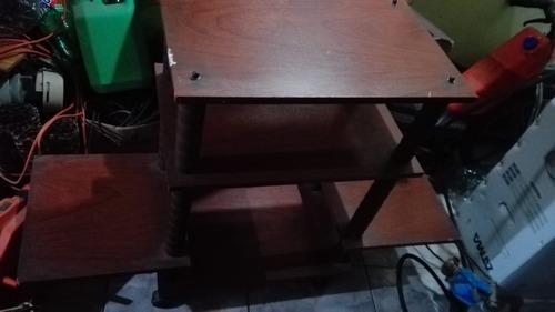 mesa pinotea tv - lcd equipo de audio modulo rack
