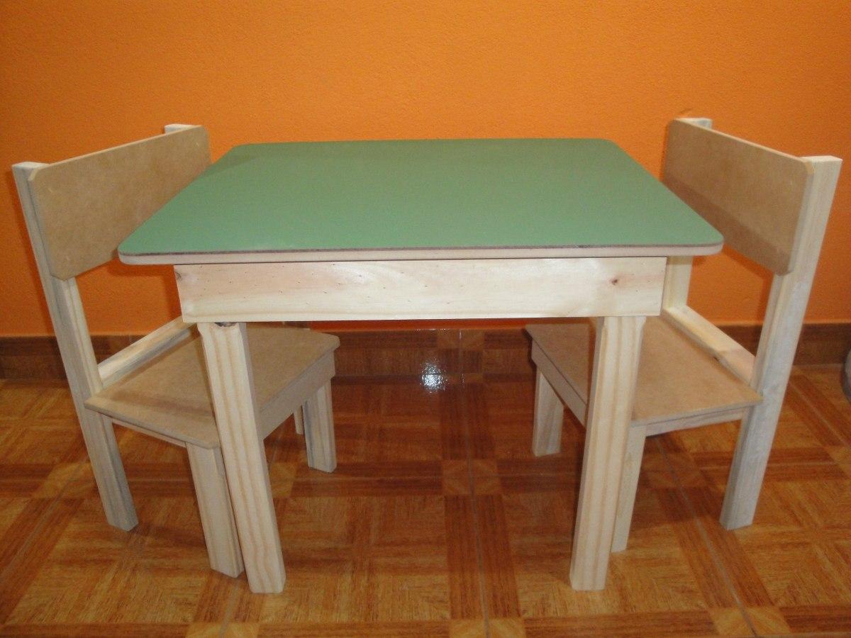 Mesas de madera infantiles great el estilo nrdico en las - Mesas infantiles madera ...