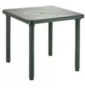 mesa plastica cuadrada duraplas