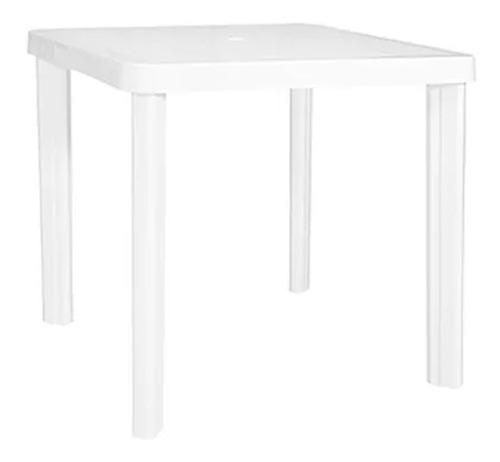 mesa plástica garden life 0.75 x 0.75m borneo