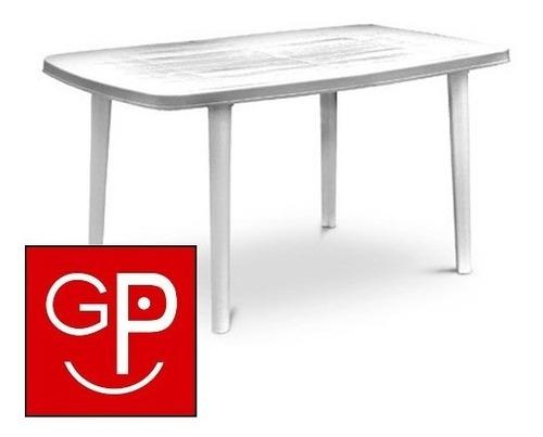 mesa plástica ova 72x140x90cm g p