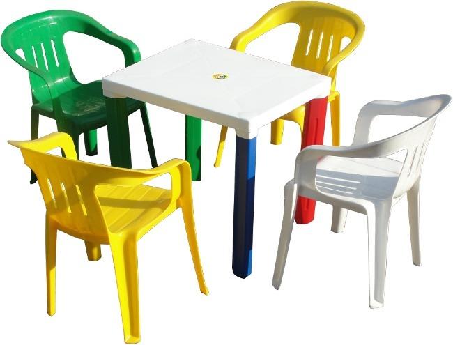 Mesa Plástica Para Niños + 1 Silla Color. Despacho Gratis - $ 15.000 ...