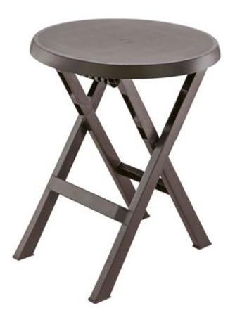 mesa plástica plegable 60 cm