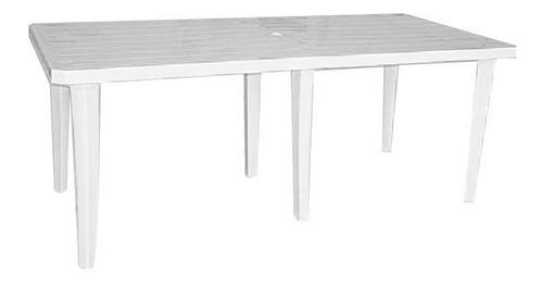 mesa plastico rectangular 1,80 mts colombraro 6 patas