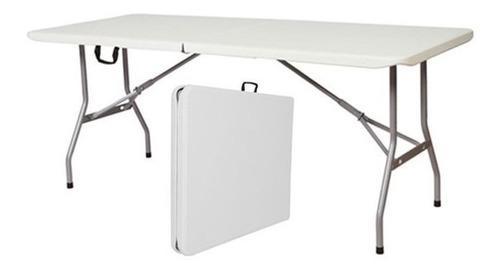 mesa plegable 180 cm rectangular