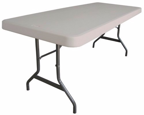 Mesa plegable mts mesa tabl n de pl stico 1 399 for Mesa plegable plastico