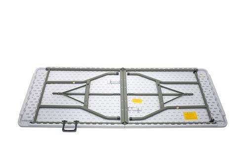 mesa plegable 1,80 x 0,75 x 0,74 tipo maletin banquetera