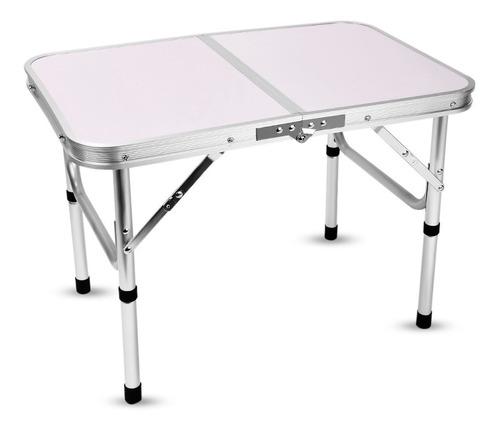 mesa plegable 24--41.5cm ajustable aluminio maletin portatil