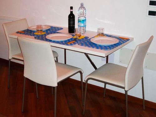 Mesa plegable abatible para cocina s 119 00 en mercado for Mesa plegable mercado libre