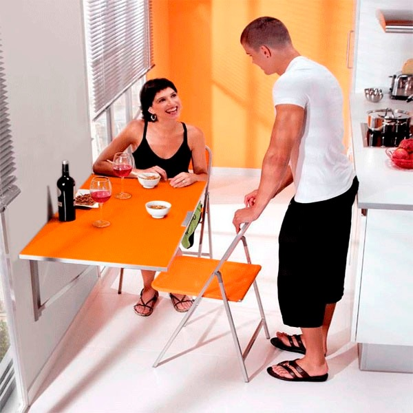 Mesa plegable abatible para cocina envio gratis s 119 00 en mercado libre - Mesa de cocina abatible ...