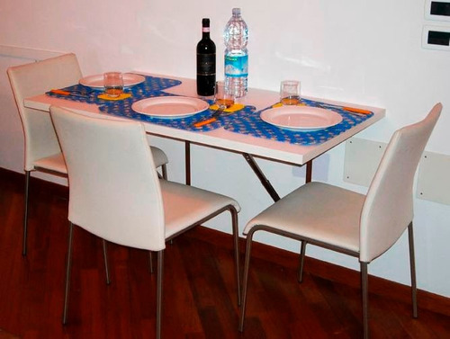 mesa plegable, abatible para cocina - envio gratis