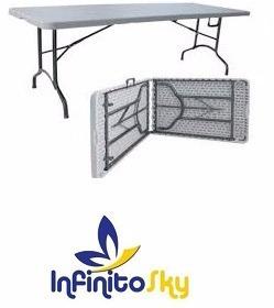 mesa plegable alta calidad 180x74x75