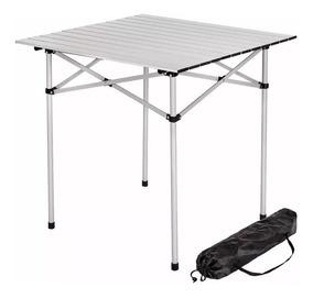 Aluminio X Camping 70 Compacta Mesa Plegable Enrollable qUVpLGjSzM