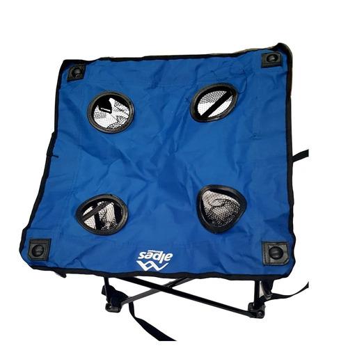 mesa plegable camping alpes oferta