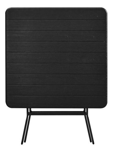 mesa plegable c/diseño de madera 78 x 78 cm cuotas s/ carg!