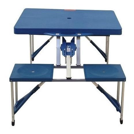 mesa plegable de 4 personas para el jardin -picnic
