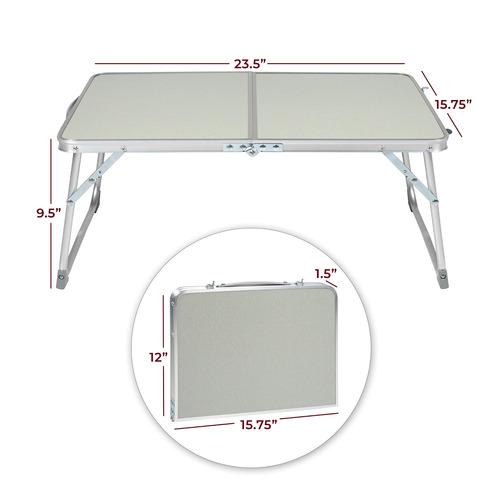 mesa plegable de aluminio para computadora portátil milli...