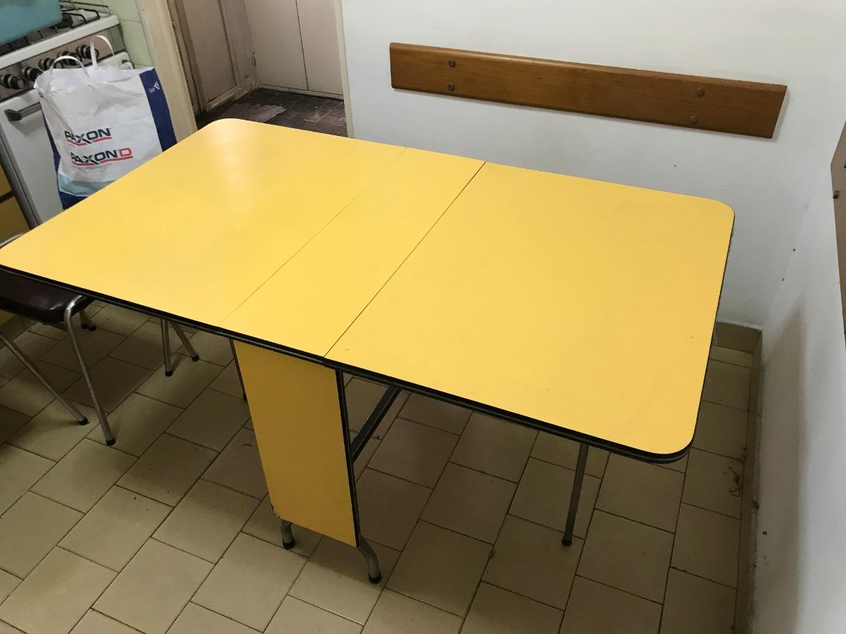 Mesa Plegable De Cocina Tipo Libro En Optimas Condiciones - $ 1.500 ...