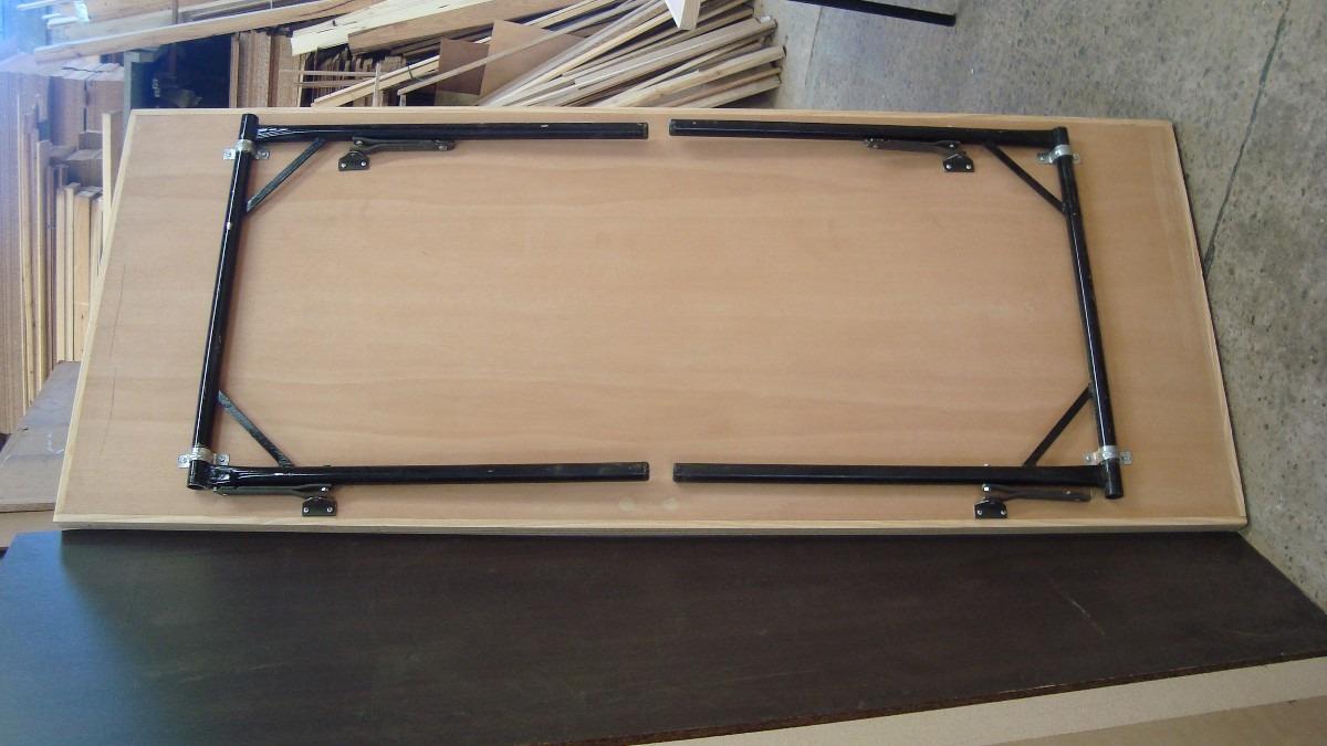 Como hacer una mesa rebatible mesa plegable de altura for Patas de mesa plegables